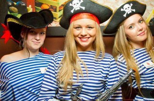 Фотосессия пираты
