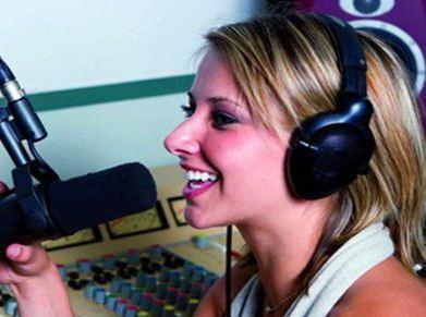 Поздравление по радио