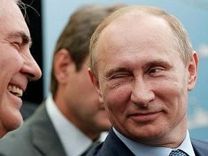 Путин подмигивает